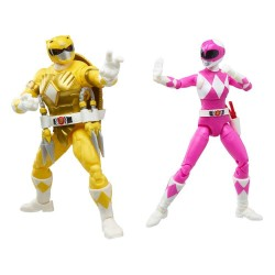 Power Rangers x TMNT Lightning Collection figurines 2022 Morphed April O´Neil & Michelangelo