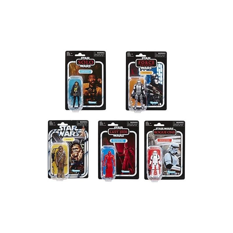 Star Wars Vintage Collection Wave 6 Lando,Phasma,Chewbacca,Praetorian Guard & Stormtrooper