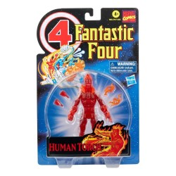 Marvel Legends Retro Collection Fantastic Four 15cm Human Torch