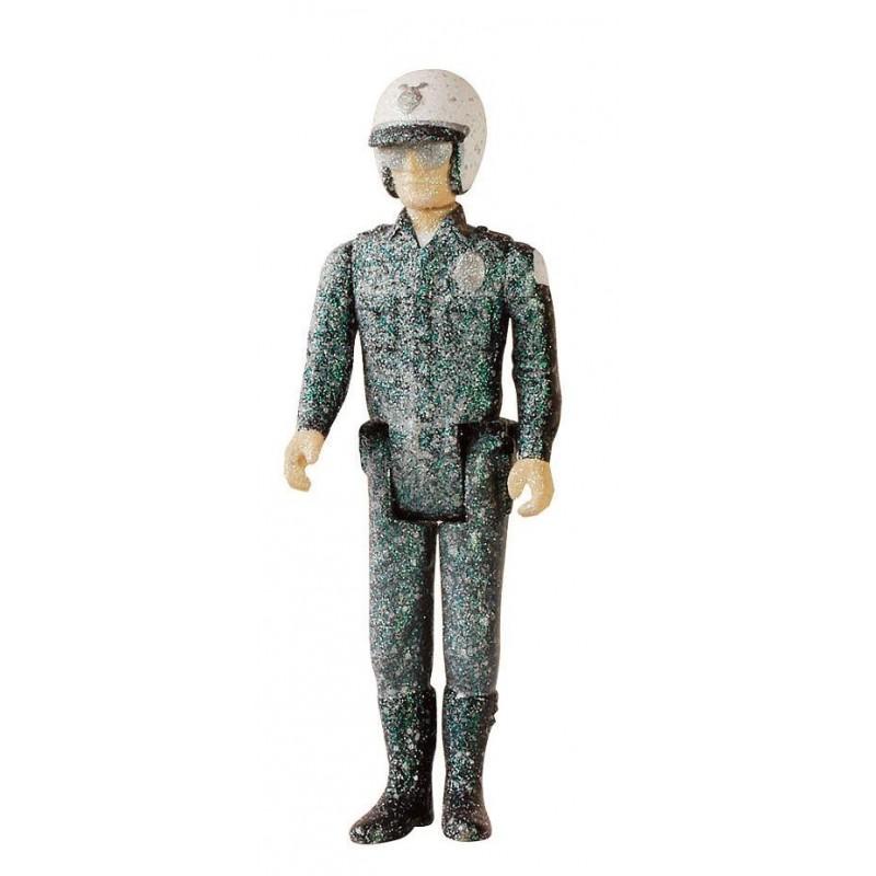 Terminator 2 ReAction figurine T-1000 Patrolman Frozen 10 cm