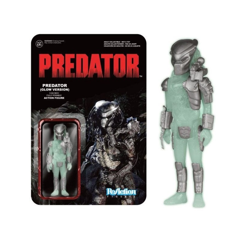 Predator ReAction figurine Predator Glow In The Dark 8 cm