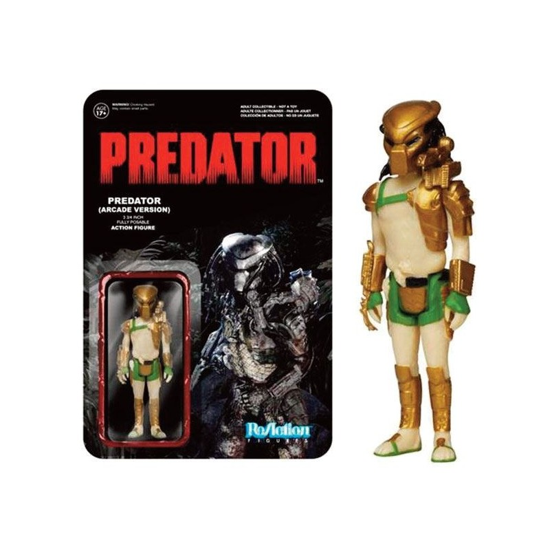 Predator ReAction figurine Predator (Arcade Version) 8 cm