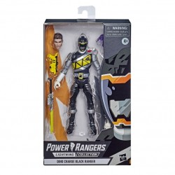 Figurine Power Rangers Lightning Collection Exclisive 15cm Dino Charge Black Ranger