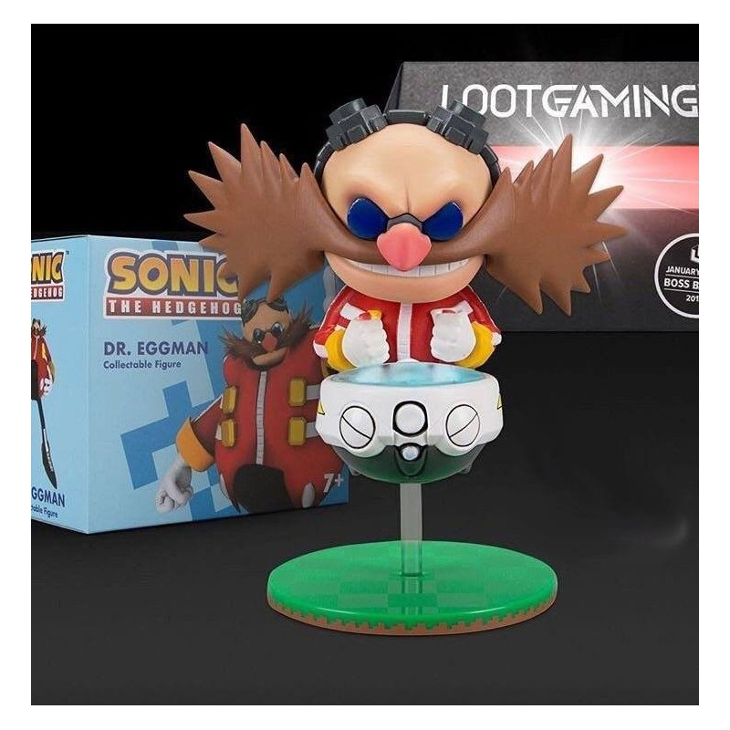 Sonic figurine Dr. Eggman Lootcrate Exclusive 10 cm