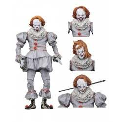 « Il » est revenu 2017 figurine Ultimate Pennywise (Well House) 18 cm