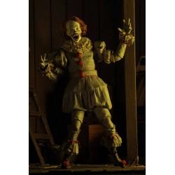 « Il » est revenu 2017 figurine Ultimate Pennywise (Well House) 18 cm