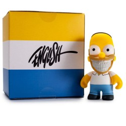 Simpsons figurine Homer Grin by Ron English 8 cm