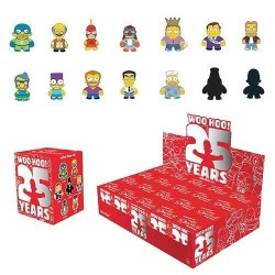 Simpsons présentoir figurines 8 cm 25th Anniversary (20)