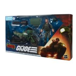G.I. Joe Classified Series Cobra Island 2021 figurine Alvin Breaker Kibbey with Ram Cycle 15 cm