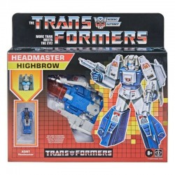 Figurine Transformers Retro Headmaster 14cm Highbrow