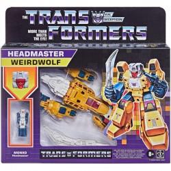 Figurine Transformers Retro Headmaster 14cm  Weirdwolf