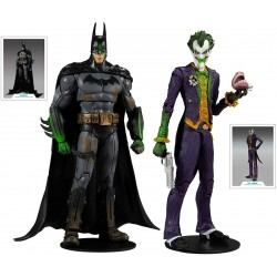 Figurine DC Comics Arkham Asylum 2-packs Batman VS The Joker