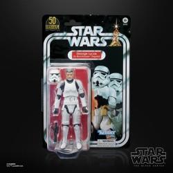 Figurine Star Wars Black Series Vintage 50th George Lucas In Stormtrooper Disguise