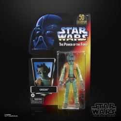 Figurine Star Wars Black Series POTF 50TH Greedo