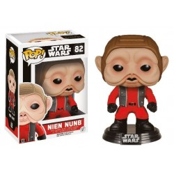 Star Wars Episode VII POP! Vinyl Bobble Head Nien Nunb 9 cm