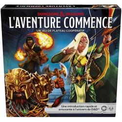 Jeux de plateau - Dungeons & Dragons - L'aventure Commence