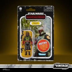 Star Wars The Mandalorian Retro Collection figurine 2022 Boba Fett (Morak) 10 cm