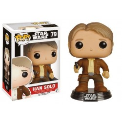 Star Wars Episode VII POP! Vinyl Bobble Head Han Solo 9 cm