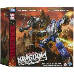 Transformers WFC Deluxe Maximal Grimlock et Autobot Mirage 14cm