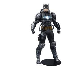 DC Multiverse figurine Batman Hazmat Suit Gold Label Light Up Batman Symbol 18 cm