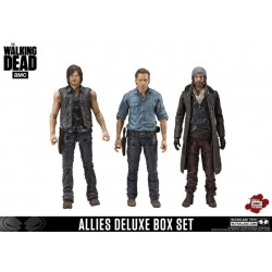 The Walking Dead TV Version pack 3 figurines Allies 13 cm