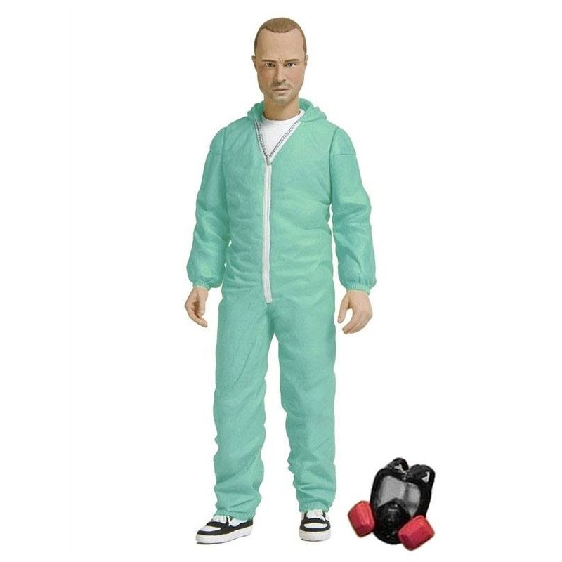 Breaking Bad figurine Jesse Pinkman in Blue Hazmat Suit Previews Exclusive 15 cm