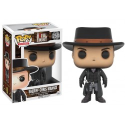 Les Huit Salopards Figurine POP! Movies Vinyl Chris Mannix 9 cm