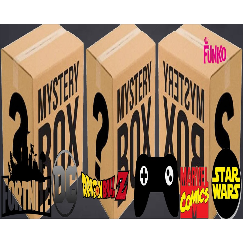 Lot Promotions 12 Figurines Funko Pop! Boite Mystère