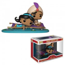 Aladdin pack 2 POP! Movie Moments Vinyl Bobble Head Magic Carpet Ride 9 cm