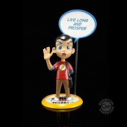 The Big Bang Theory figurine Q-Pop Sheldon Cooper 9 cm