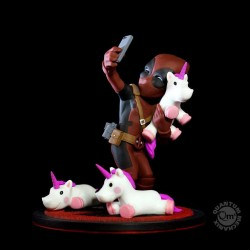 Marvel diorama Q-Fig Deadpool #unicornselfie 10 cm
