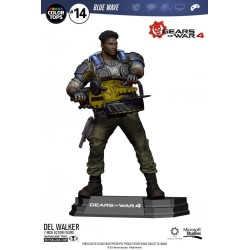 Gears of War 4 figurine Color Tops Delmont 'Del' Walker 18 cm