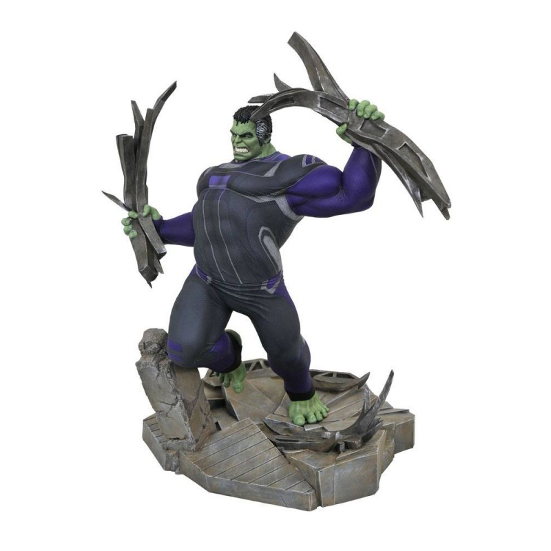 Avengers : Endgame diorama Marvel Movie Gallery Tracksuit Hulk 23 cm