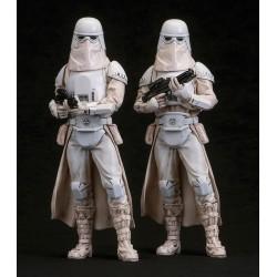 Star Wars pack 2 statuettes PVC ARTFX+ Snowtrooper 18 cm