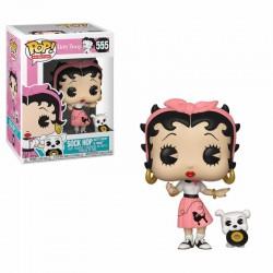 Betty Boop Figurine POP! Animation Vinyl Betty Boop Sock Hop 9 cm