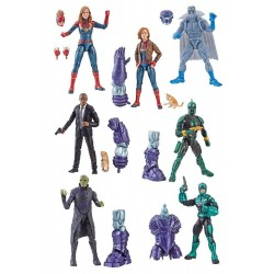 Marvel Legends Series Captain Marvel 2019 Wave 1 assortiment figurines 15 cm