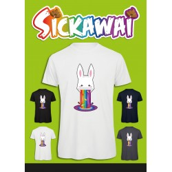 Sickawai T-shirt Homme Lapin Sickawai Le Coin Des Goodies