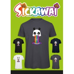 Sickawai T-shirt Homme Panda Sickawai Le Coin Des Goodies
