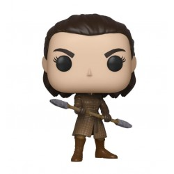 Game of Thrones POP! Television Vinyl figurine Arya w/Two Headed Spear 9 cm