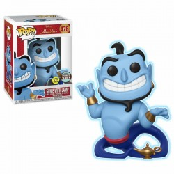 Aladdin Figurine POP! Disney Vinyl Speciality Series Genie with Lamp GITD 9 cm