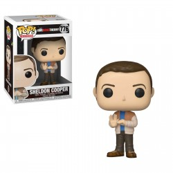 The Big Bang Theory POP! TV Vinyl figurine Sheldon 9 cm