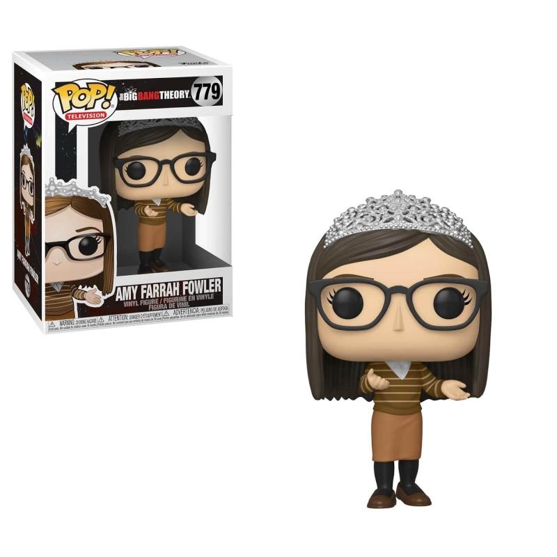 The Big Bang Theory POP! TV Vinyl figurine Amy 9 cm