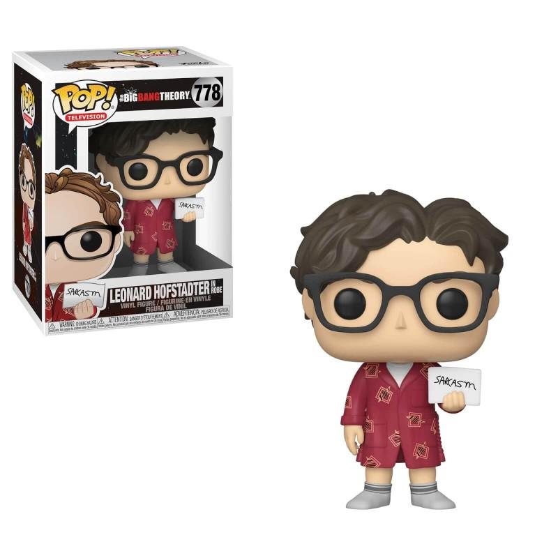 The Big Bang Theory POP! TV Vinyl figurine Leonard 9 cm