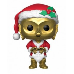 Star Wars POP! Vinyl Bobble Head Holiday Santa C-3PO 9 cm