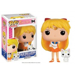 Sailor Moon POP! Animation Vinyl figurine Sailor Venus & Artemis 9 cm