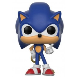 Sonic The Hedgehog POP! Games Vinyl figurine Sonic (Ring) 9 cm