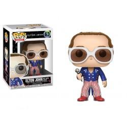 Elton John POP! Rocks Vinyl Figurine Elton John Red, White & Blue 9 cm