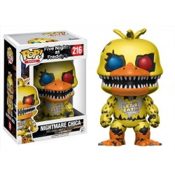 Five Nights at Freddy's POP! Games Vinyl Figurine Nightmare Chica 9 cm