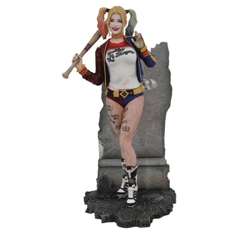 DC Movie Gallery statuette Suicide Squad Harley Quinn 20 cm Diamond Tout L'univers Dc Comics