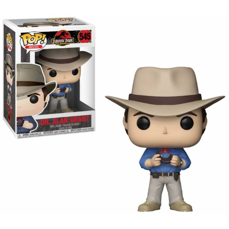 Jurassic Park POP! Movies Vinyl figurine Dr. Alan Grant 9 cm
